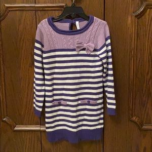 Cute girls sweater dress/tunic size 5
